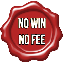 no win no fee badge