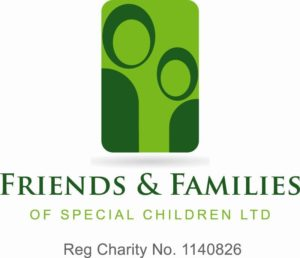 Friends and Family logo for Charity of the year page