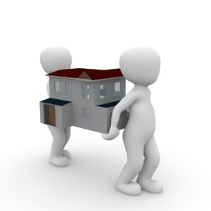 Image for Conveyancing - First Time Buyer - Two people carrying house