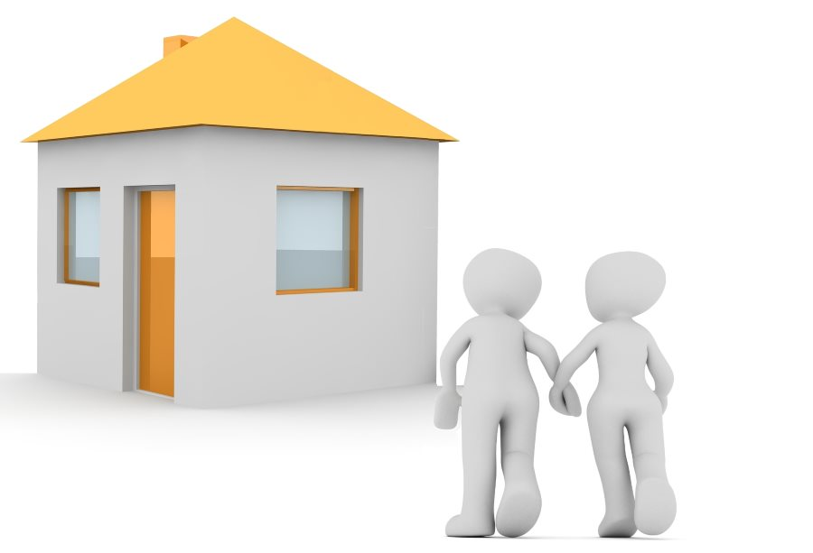 Buying a house together - couple and house combined