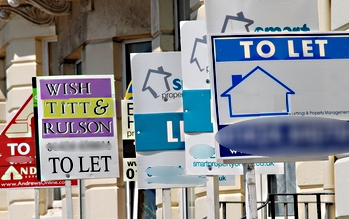 Business leases- tenants' market image of to let signs