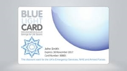 Blue Light Card Logo for Plymouth Family Law Solicitors Page
