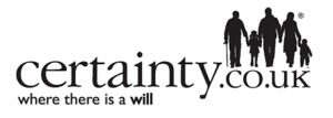 Wills & Probate solicitors page - Certainty Logo