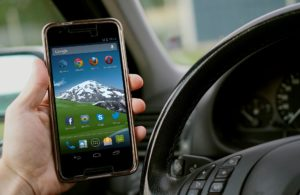 using mobile phone whilst driving
