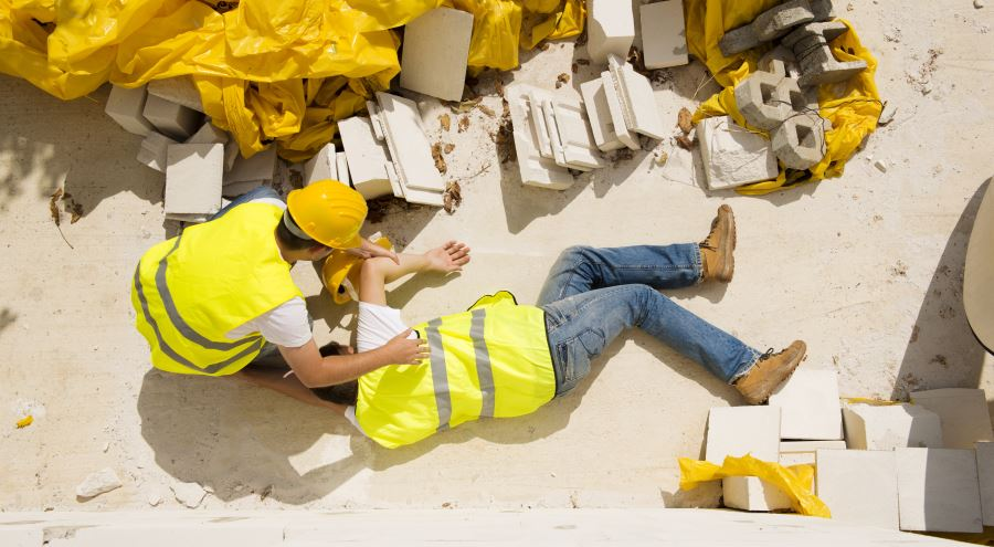 Accident at Work - Life Changing Injury