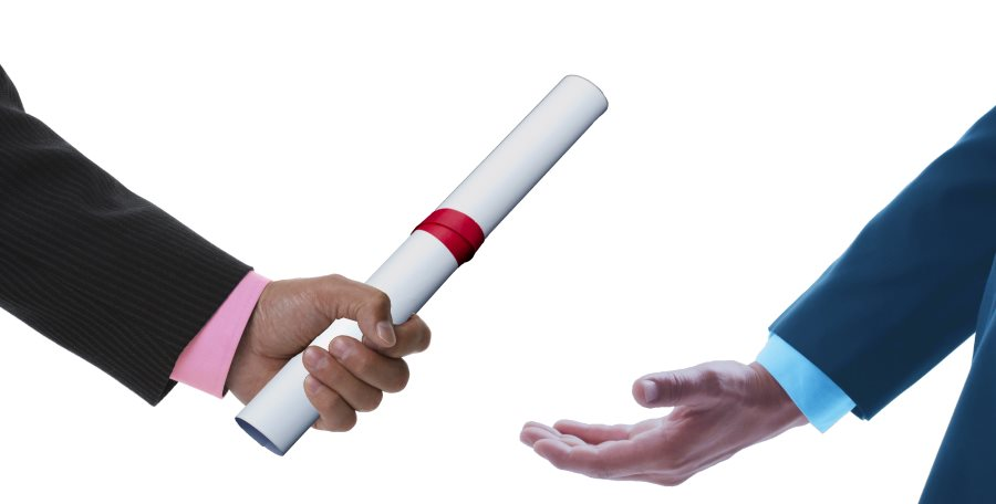 Business Transfer - Pass Baton image