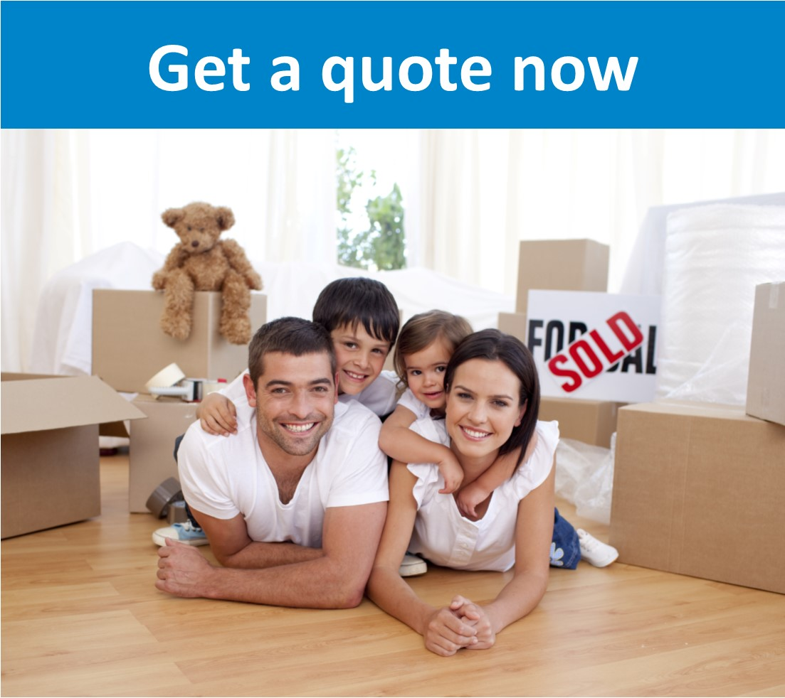 Image for Plymouth Conveyancing Solicitors page - Happy family lying on floor after buying new property